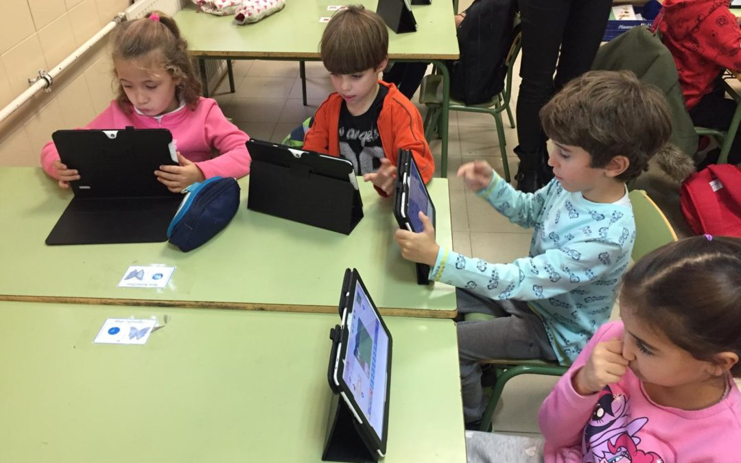 Talleres de Scratch junior en 1º
