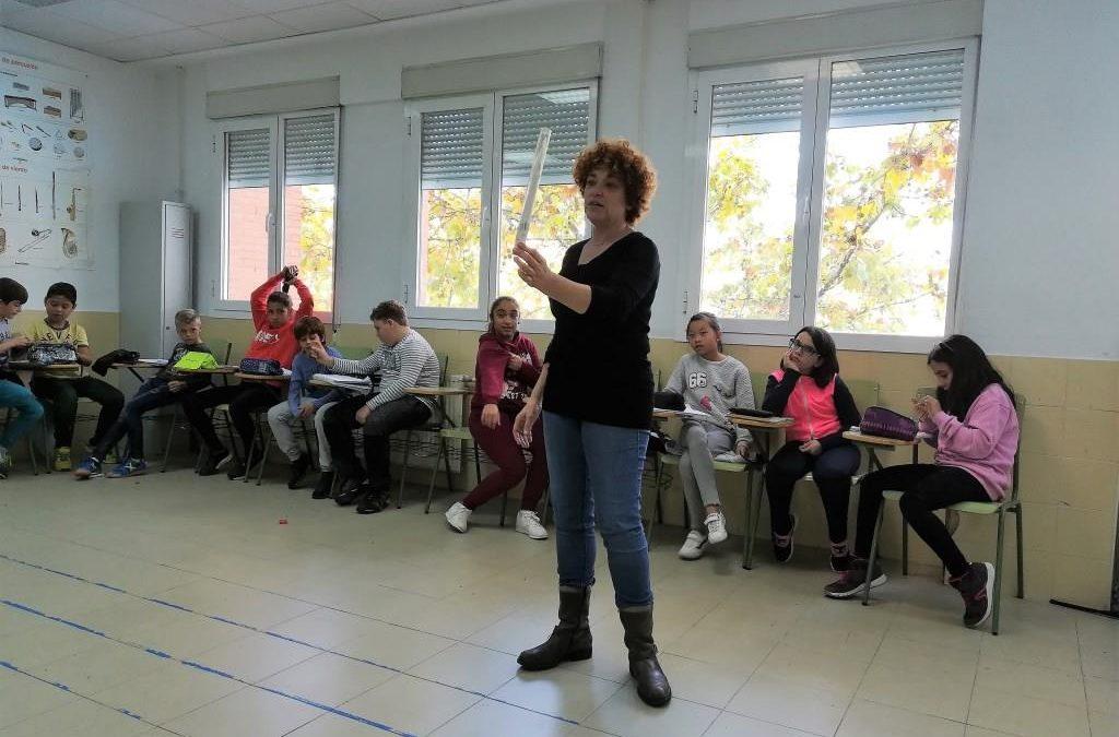 Nos visita una actriz: Cristina Marcos