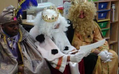 Nos visitan los Reyes Magos