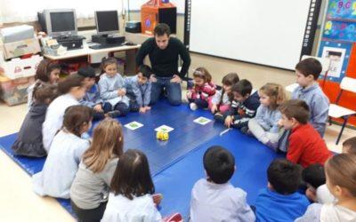 Bee-Bot visita las aulas de infantil 5 años