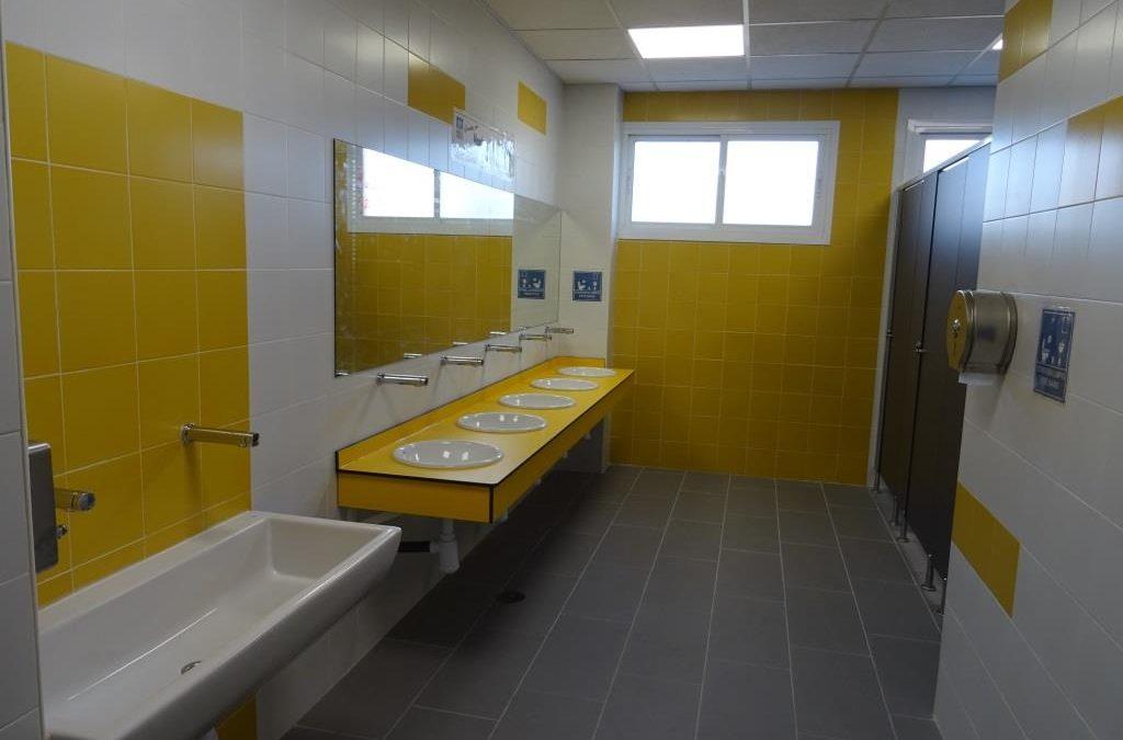 Reforma de los baños de 1º y 2º de Primaria