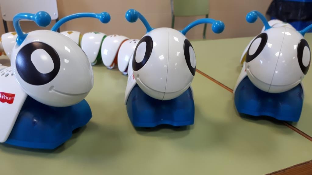Robots para las más pequeñas/os del cole