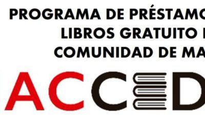 Entrega libros programa ACCEDE para 1º de Primaria