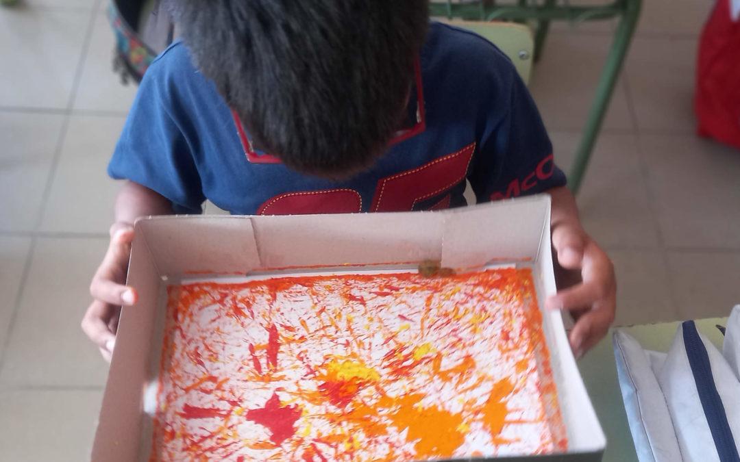 Artastic. Making a Jackson Pollock